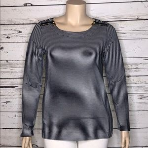 Weekend Andrea Jovine XL Exposed Zippers Knit Top